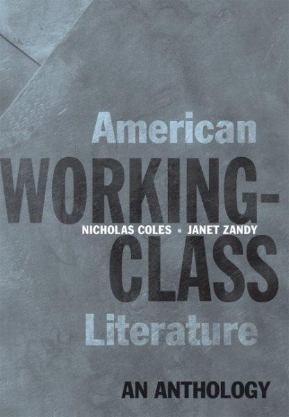 American Working-class Literature