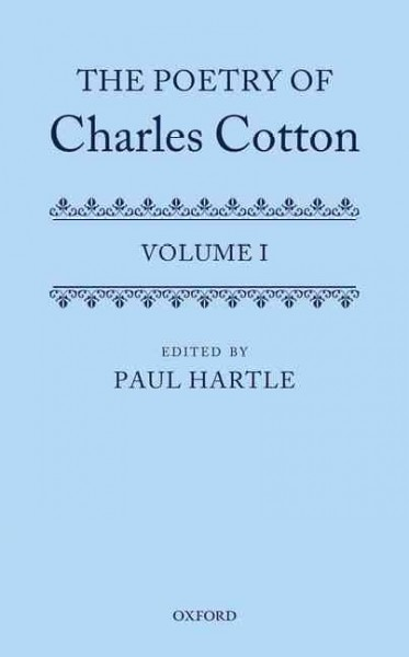 The Poetry of Charles Cotton