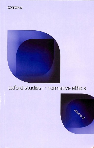 Oxford Studies in Normative Ethics