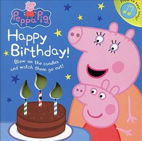 Peppa Pig: Happy Birthday! (硬頁音效書)