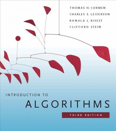 Introduction to Algorithms:3rd edition