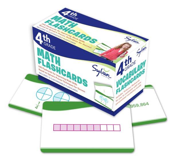 Fourth Grade Math Flashcards(Cards)