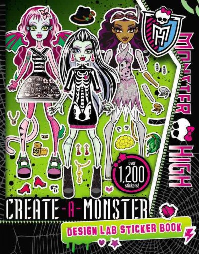 Monster High Create-a-monster Design Lab