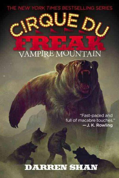 Vampire Mountain (Cirque du Freak Series #4)魔山印石-向達倫大冒險4