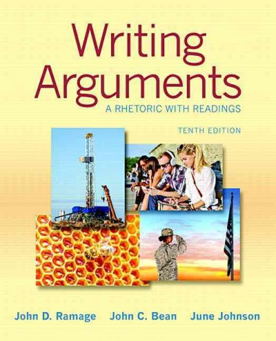 Writing arguments :  a rhetoric with readings /