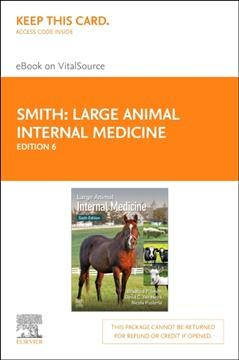 Large Animal Internal Medicine - Elsevier Ebook on Vitalsource Retail Access Card