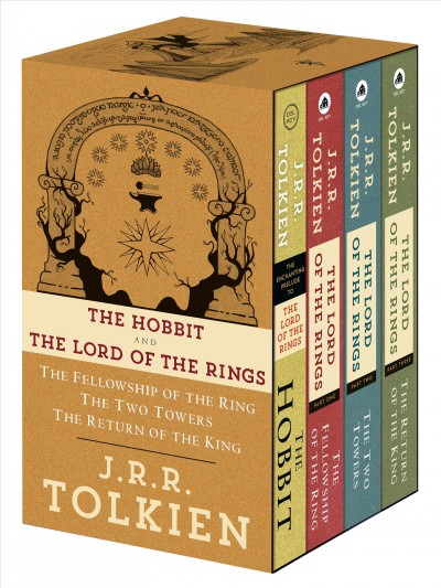 The Lord of the Rings 4 books Boxed Set 魔戒三部曲套書+外傳