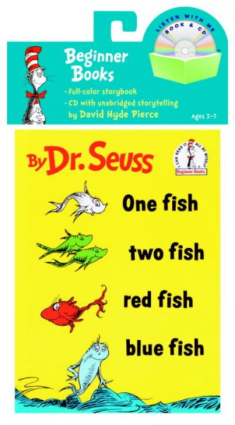 One Fish. Two Fish. Red Fish. Blue Fish (Book & CD)