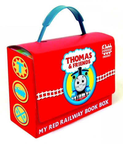 My Red Railway Book Box