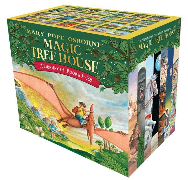The Magic Tree House Library: Volumes 1-28 神奇樹屋套書#1-28