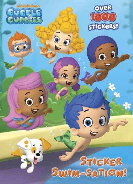 Sticker Swim-sation! Color Plus 1,000 Stickers