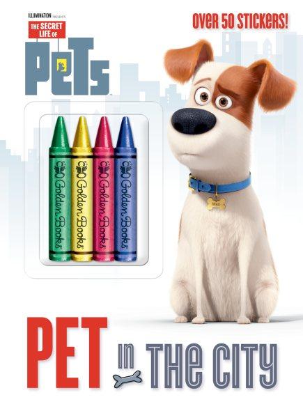 Secret Life of Pets:Pet in the City 寵物當家著色書(附蠟筆+貼紙)