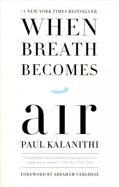 When Breath Becomes Air當呼吸化為空氣(國際平裝)