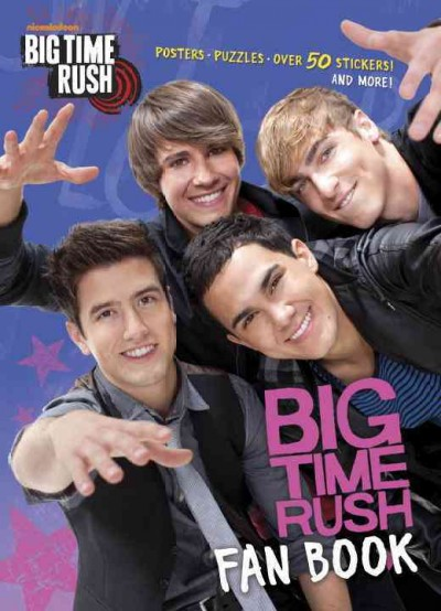 Big Time Rush Fan Book Full-Color Activity Book With Stickers