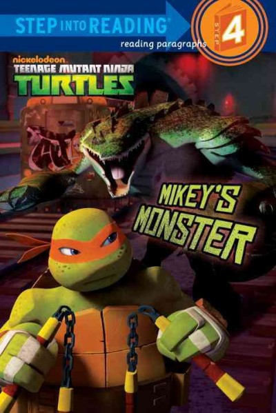 Mikey's Monster Step into Reading Book