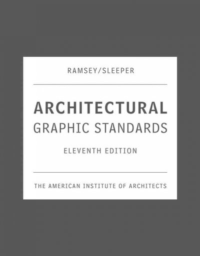 Architectural graphic standards /