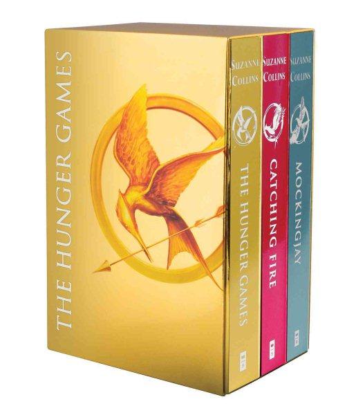The Hunger Games Box Set 飢餓遊戲套書箔金版