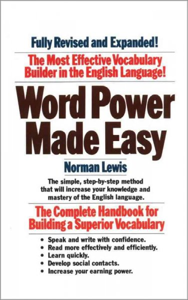 Word Power Made Easy 英文字彙縱橫談