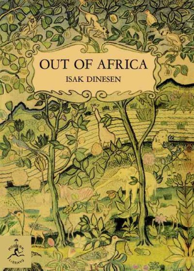 Out of Africa (Modern Library Series)