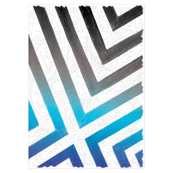 Christian Lacroix Sol Y Sombra A5 8 X 6 Notebook Sunrise Blue