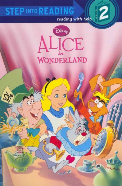 Alice in Wonderland Step into Reading Book