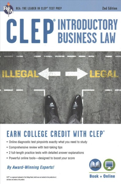 Clep Introductory Business Law + Online