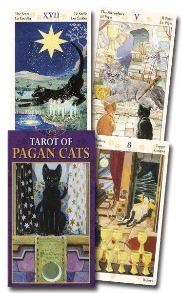 Tarot of the Pagan Cats/ Tarot de los gatos paganos/ Tarot Der Heidnischen Katzen/ Tarot D