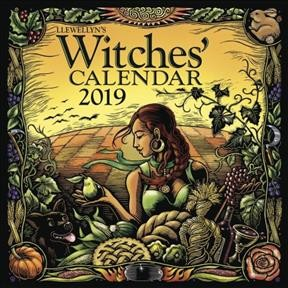 Llewellyn's 2019 Witches' Cale(Wall)