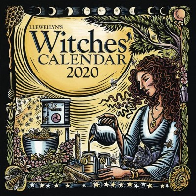 Llewellyn's Witches' 2020 Cale(Wall)
