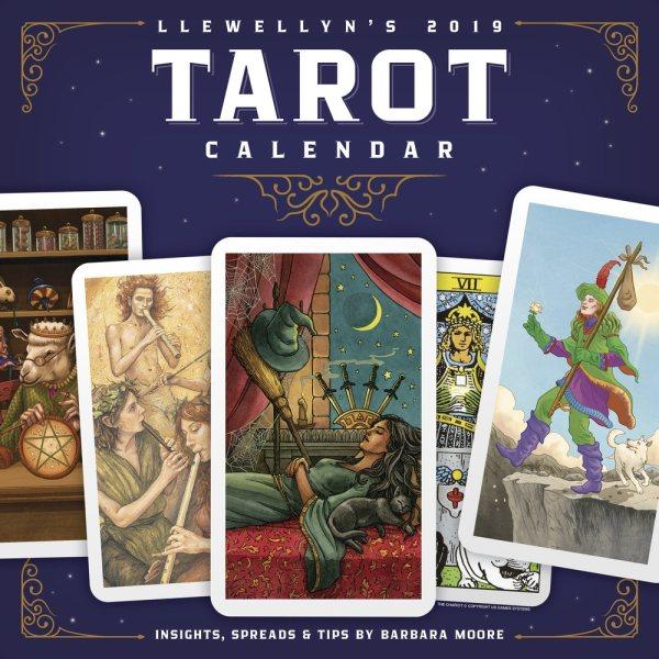 Llewellyn's 2019 Tarot Calenda(Wall)