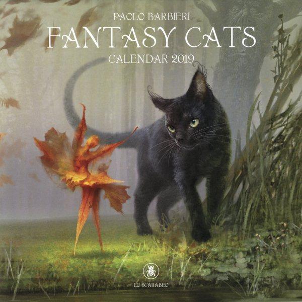 Barbieri Fantasy Cats Calendar(Wall)