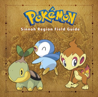 Pok幦on Sinnoh Region Field Guide