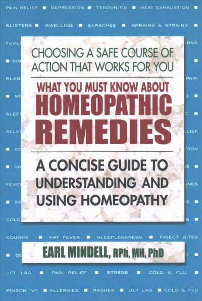 What You Must Know About Homeopathic Remedies