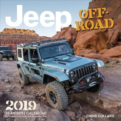 Jeep Off-road 2019 Calendar