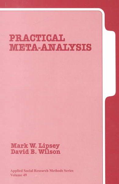 Practical meta-analysis /