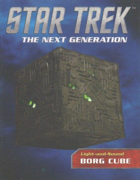 Star Trek - Light-and-sound Borg Cube