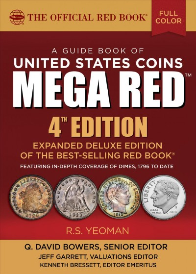A Guide Book of United States Coin Mega Red
