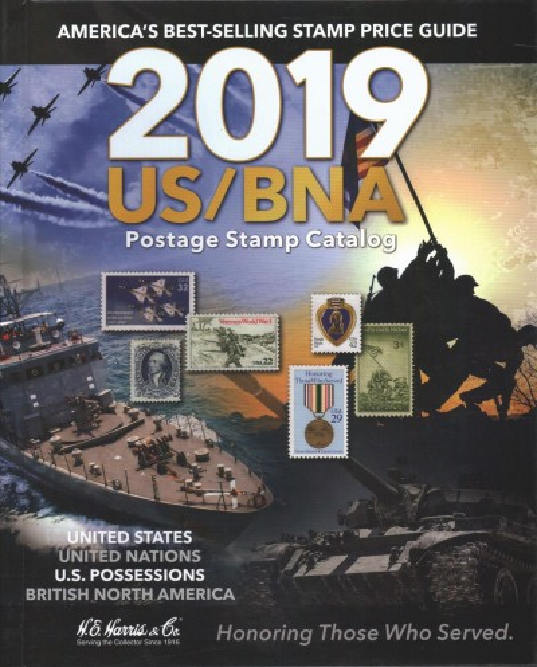 Us/Bna 2019 Postage Stamp Catalog