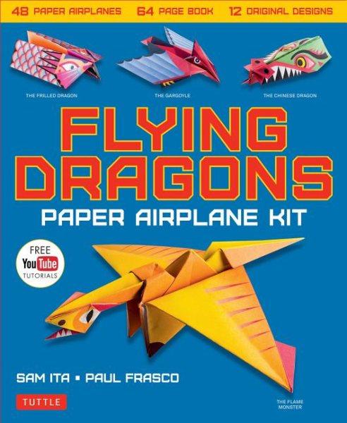 Flying Dragons Paper Airplane Kit