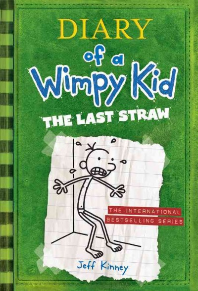 Diary of a Wimpy Kid 3: The Last Straw(International edition) 遜咖日記3:改造葛瑞大作戰(平裝)