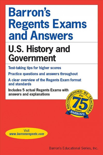 Barron's Regents Exams & Answers U. S. History & Government