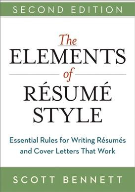 The Elements of Resume Style