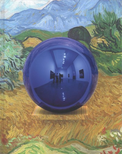 Gazing ball paintings /