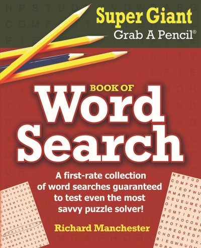 Super Giant Grab a Pencil Book of Word Search