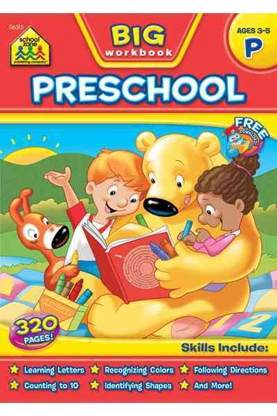 Big Preschool Workbook (Get Ready Series)