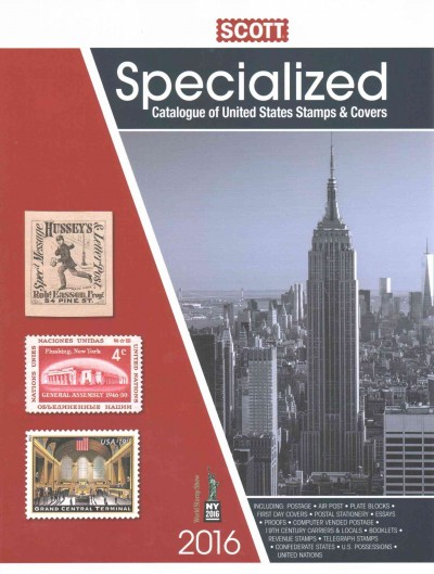 Scott Standard Postage Stamp Catalogue 2016