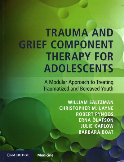 Trauma and grief component therapy for adolescents : a modular approach to treating traumatized and bereaved youth