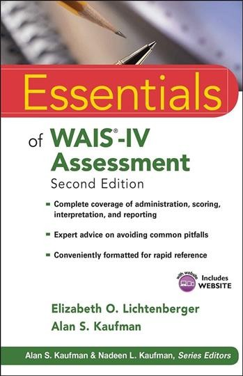 Essentials of WAIS-IV assessment /