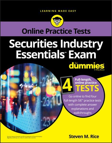 Securites Industry Essentials Exam for Dummies With Online Practice