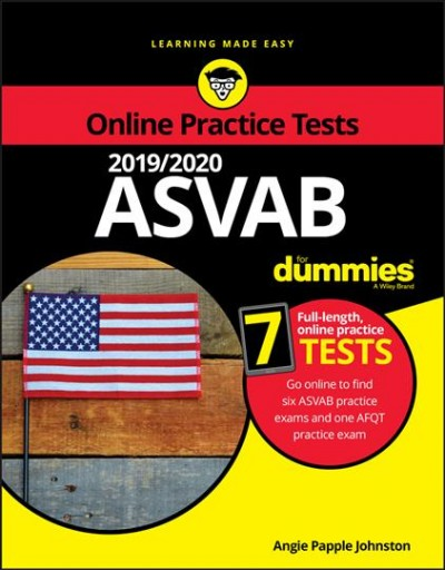 2019 / 2020 Asvab for Dummies With Online Practice